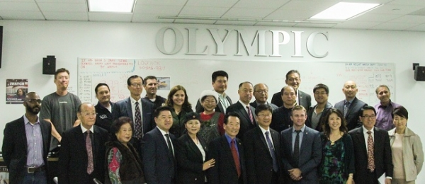 Olympic LAPD church leaders