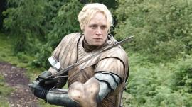 Gwendoline Christie as Brienne of Tarth in 'Game of Thrones'