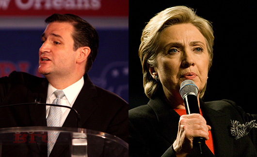 Ted Cruz Emerges as GOP Winner, While Hillary Clinton ...