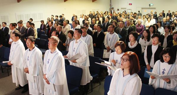 Southern California Korean Churches Hold Joint Dawn Worship