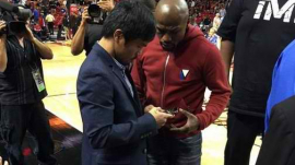 pacquiao vs mayweather rematch