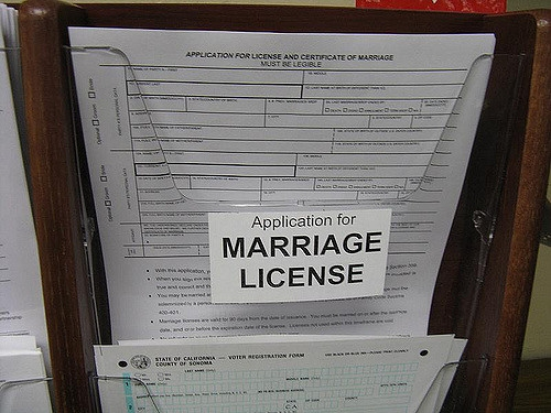 story kentucky governor signs single marriage license form
