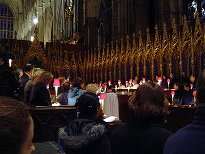 [Photo: Sergio Calleja/Flickr/CC] Service at London Westminster Abbey, Church of England.