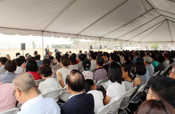 New Life Vision Church NLVC groundbreaking ceremony