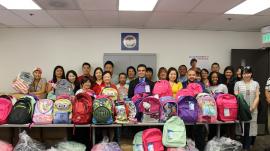 KFAM backpacks