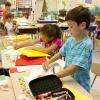 School classroom children