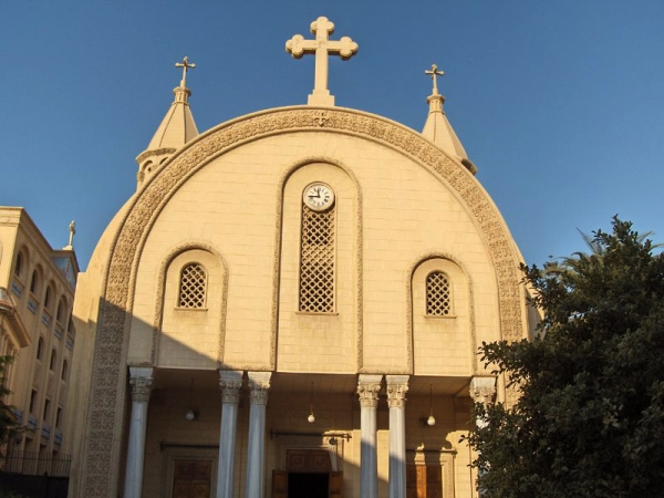St Mark's Cathedral Coptic Church Egypt