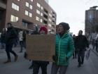 March for immigration sanctuary city