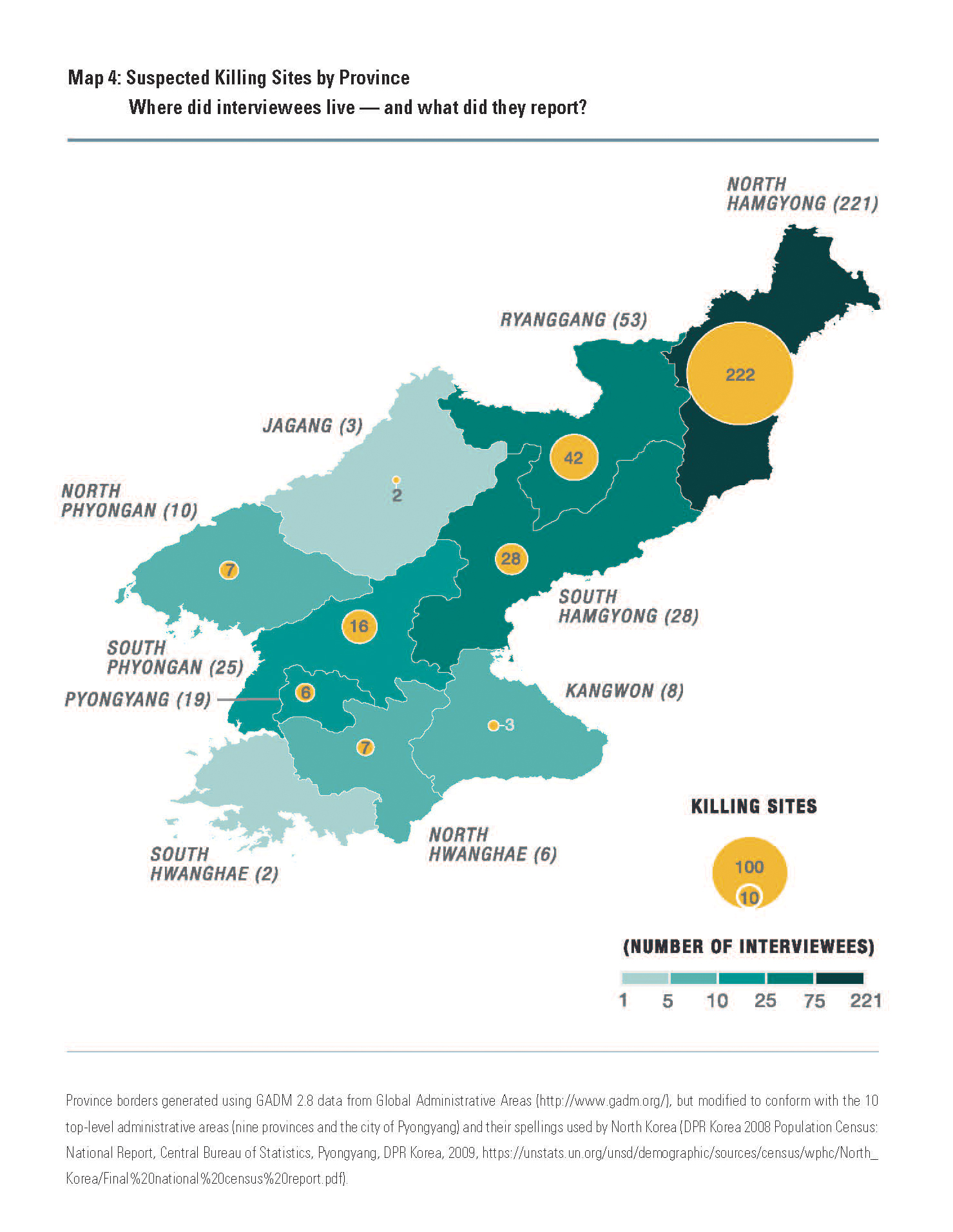 Human Rights Group Maps North Korea\'s Killing Sites and Brutalities ...