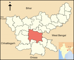 Jharkand State, Ranchi District in India