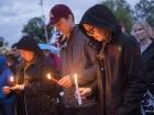 Charlottesville violence vigil
