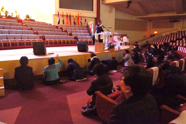 Korean American churches had a special prayer for the freedom of the Republic of Korea.