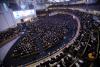 Many church members attend dawn prayer meeting. ⓒSaRang Church