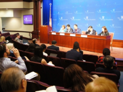 North Korean Human Rights Debate at the event hosted by the North Korea Freedom Coalition in April last year.