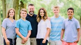 The Dummitt Family: Grace, Joe, Dave, Rachel, Luke, Alex