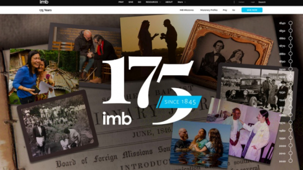 IMB's 175th anniversary remembrance continues with emphasis on prayer, virtual timeline