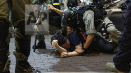 More Than Two Hundred Arrested as Protest Movement Returns in Hong Kong