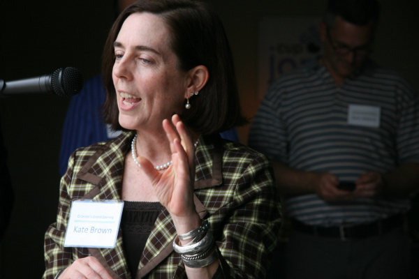 Governor of Oregon Kate Brown