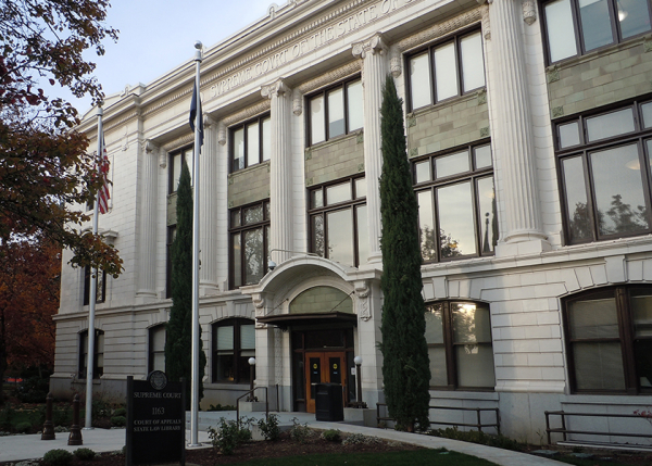 Supreme Court of Oregon Exterior