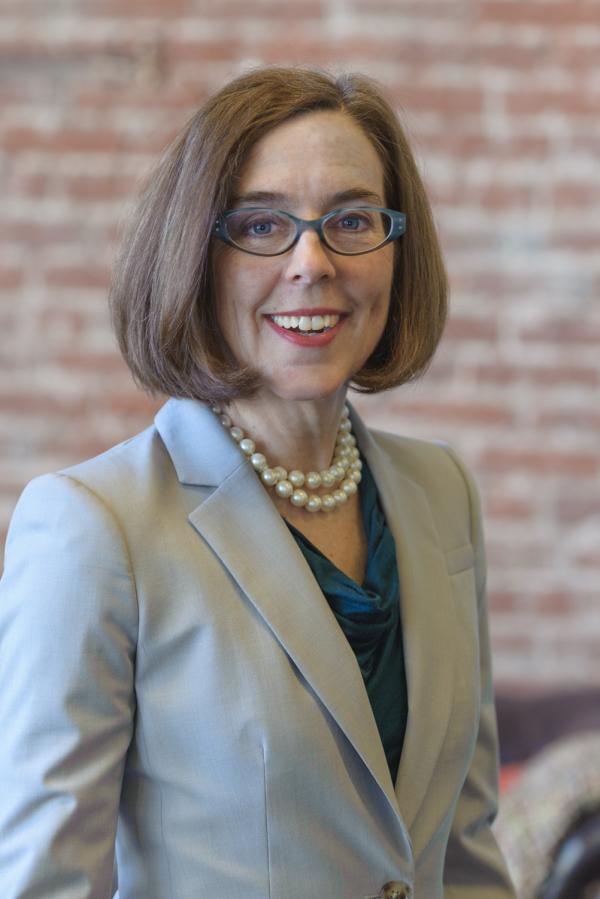 (Photo : www.oregon.gov)Oregon's 38th Governor Kate Brown