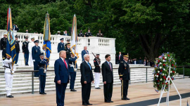 President Trump's Memorial Day Ceremony
