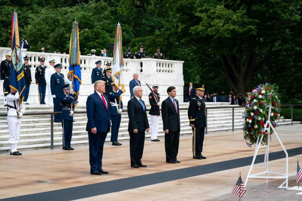 President Trump's Memorial Day Ceremony