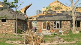 Multiple Tornadoes Strike houses