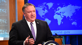 Pompeo Officially Declared That Hong Kong Is No Longer Autonomous From China
