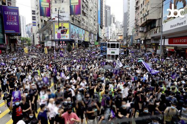 May 24 Protest in Hong Kong