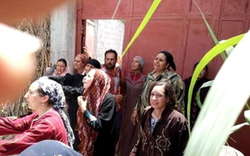 Christian Church in Egypt demolished as they are in full of despair.