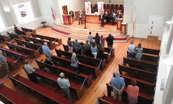 Worship in the sanctuary