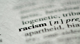 Racism on dictionary