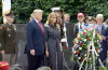 President Trump and First Lady Melania Trump lay wreath at Korean War Memorial