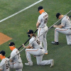 Giants Pitcher Sam Coonrod Doesn't Kneel for BLM