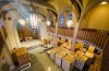The Westminster Chapel at Immanuel Presbyterian Church in Los Angeles has been transformed into a food storage facility to meet increasing demand due to COVID-19.