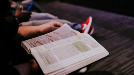 Bible study in small groups