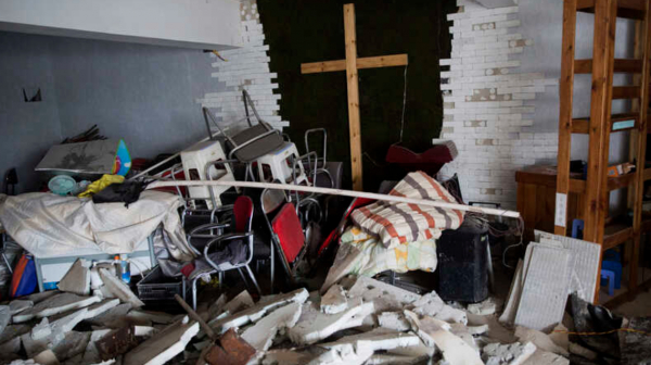 Chinese Church homes are continuously being demolished.