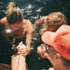 Justin Bieber and Hailey Bieber baptized together
