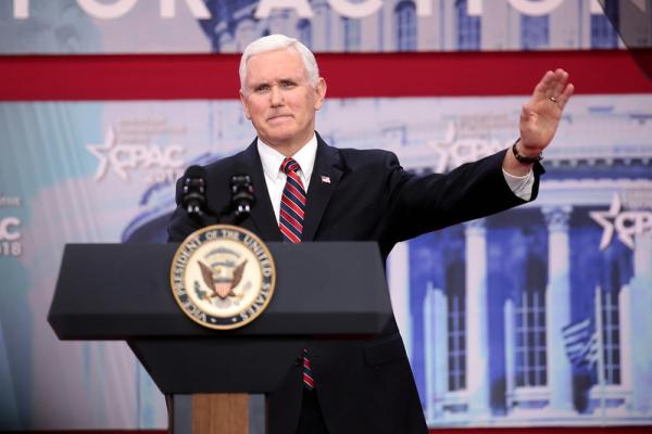 Vice President Mike Pence warned of the potential Biden presidency trampling on liberties