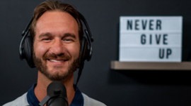 Nick vujicic once again reminds Christians to encounter God.
