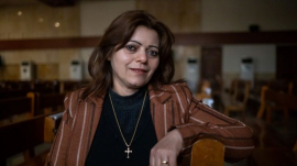 Dalia, a survivor of religious persecution