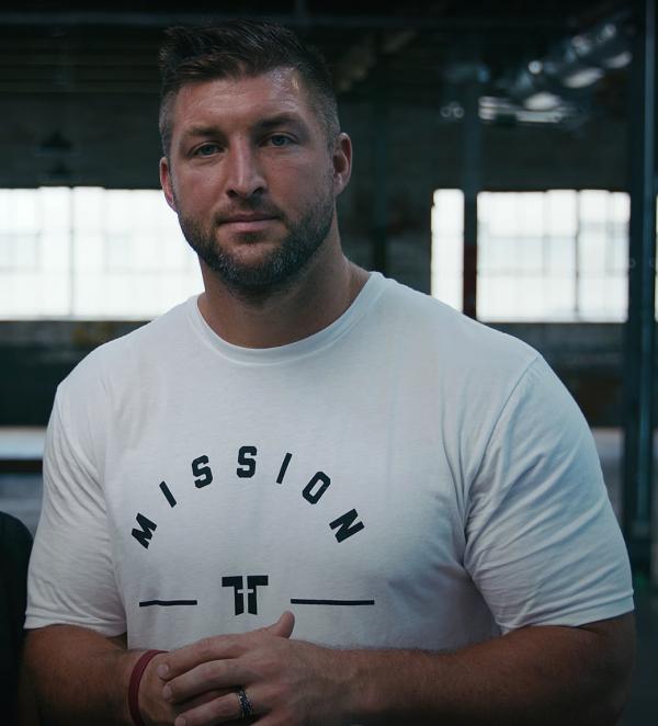 Tim Tebow raises $750,000 to end human trafficking.