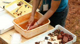 Youth Volunteer Archaeologists Uncover Treasure