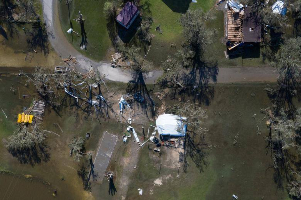 Southern Baptists Helped Clean the Aftermath of Devastating Hurricane in Louisiana
