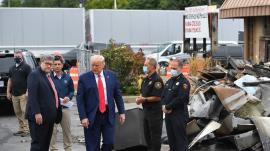 President Trump in Kenosha