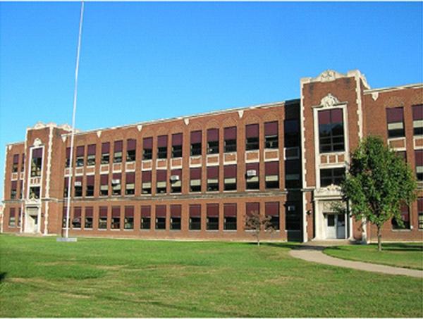 Flooding damaged the school of Buckeye Local South Elementary