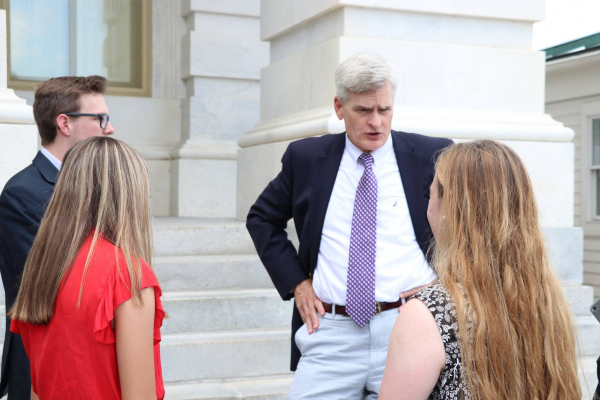 Senator Bill Cassidy Fires Back at Atheist Group over Bible Verse Tweets