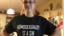 "15-year-old Teen sent home after supporting, ""HOMOSEXUALITY IS A SIN"""