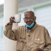 William Brooks celebrates his 111th birthday