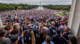 Packed National Mall